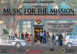 Music for the Mission poster